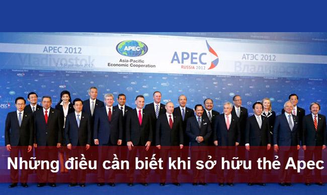 Dịch vụ làm thẻ APEC cho doanh nhân tại Bình Dương, Đồng Nai