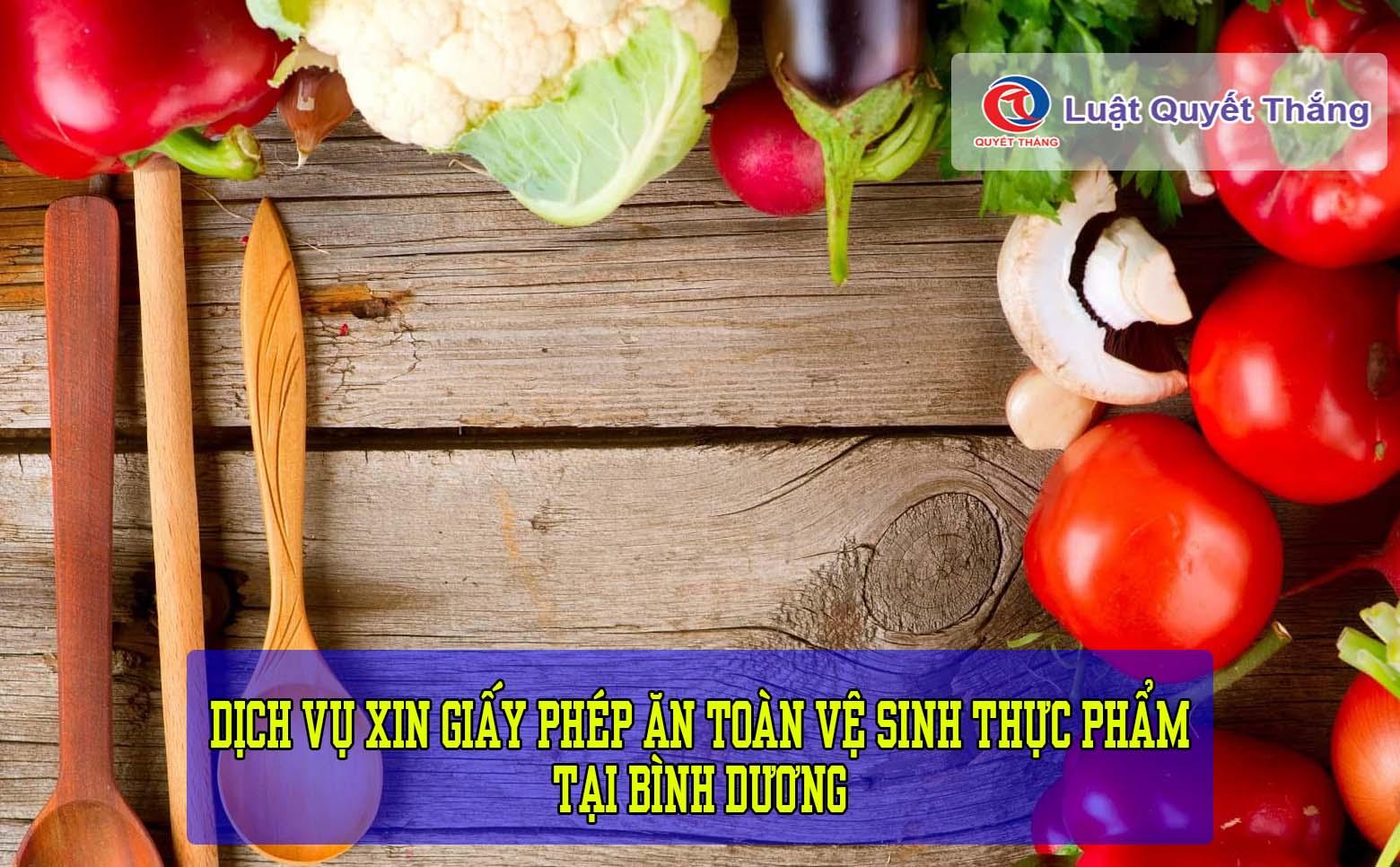 xin giấy phép an toàn vệ sinh thực phẩm